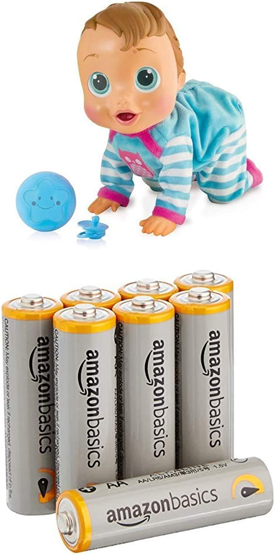 IMC Baby Wow Charlie (English language version) with AmazonBasics Batteries