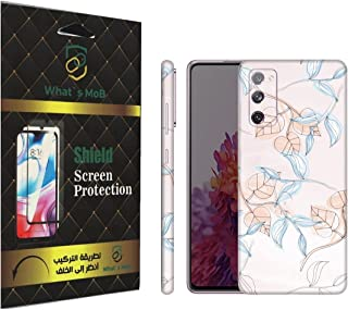 For SAMSUNG Galaxy S20 FE back full skin Girls 06 soft felling Hd print by whats mob (Not Cover)