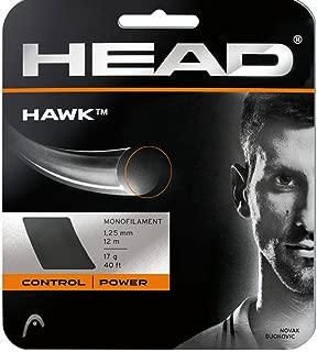 Head Hawk 17g 1.25 Tennis String (Grey) - 2 Packs