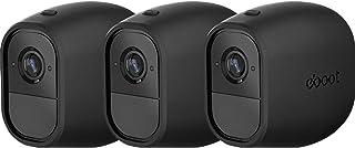 3 Piezas de Piel de Silicona de Cámara de Seguridad Negro para Arlo Pro Arlo Pro 2 Smart Security Wire-Free Camera