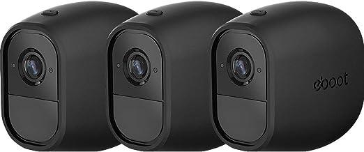 Blanc Housse de Protection en Silicone 3 pi/èces LANMU Compatible avec Les cam/éras de Surveillance NETGEAR Arlo Pro et Arlo Pro 2 Smart Etui pour Arlo Pro