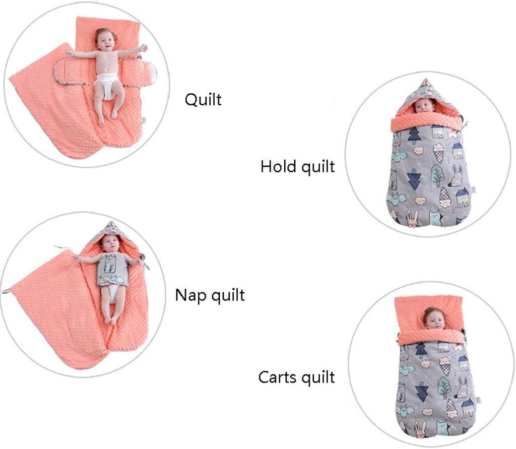 Jixi Sac de Couchage for bébé Enveloppe d'hiver Kid Sleepsack Chancelière Poussette Tricoté Gigoteuse Sac de Couchage for Enfants (Color : C) B
