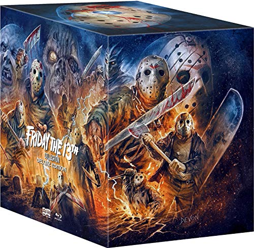 Friday the 13th Collection (Deluxe Edition) [USA] [Blu-ray]