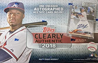 2018 topps clearly authentic