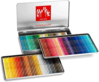 Caran Dache Metal tin with 120 assorted colours
