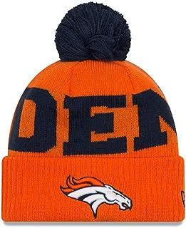 New Era Denver Broncos Scoreboard Cuffed Knit Pom Hat/Cap