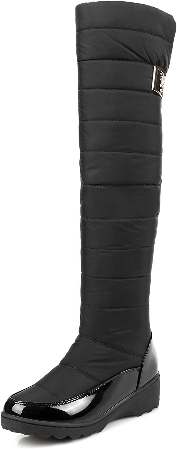 CHENSIR9 Snow Boots Waterproof Over The Knee Boots Thigh High Boots Winter shoes Women Fashion Boots