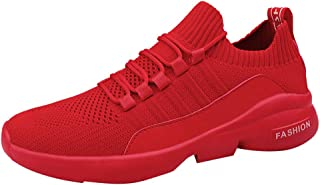 Kauneus Sock Shoes Sneakers Mens Lightweight Stretchy Outdoor Sport Shoes Boys Breathable Comfy Jogging Running Shoes