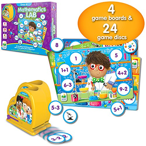 The Learning Journey Grab It! - Mathematics Lab - Preschool Toys & Gifts for Boys & Girls Ages 3 and Up - Award Winning Toy
