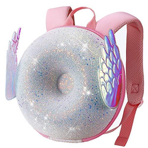 ZoyZ Kinder 3D Donut Rucksack, süße Kleinkind Donut Schultasche Kinder Kreativer Rucksack (Engel)