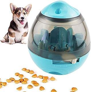 犬のおやつボール、インタラクティブ犬のおもちゃ食品ディスペンサー、スローフィーダーペットフードのおやつボール、子犬のためのIQボール犬のパズルのおもちゃ、中小規模の猫、犬、およびペット
