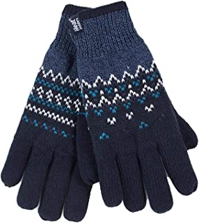 Heat Holders - Womens Thick Warm Fleece Lined Cable Knit Winter Thermal Gloves