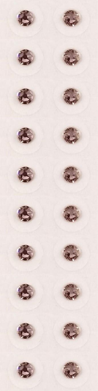 ゆりかご霜有彩色の【ヴィンテージローズ/ss12/セラミック粒】耳つぼジュエリー20粒【全50色】