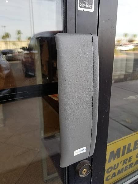 10 Plate Door Handle Cover Mitt Gray