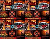 Fleece Fire Department Firemen Fire Fighters...