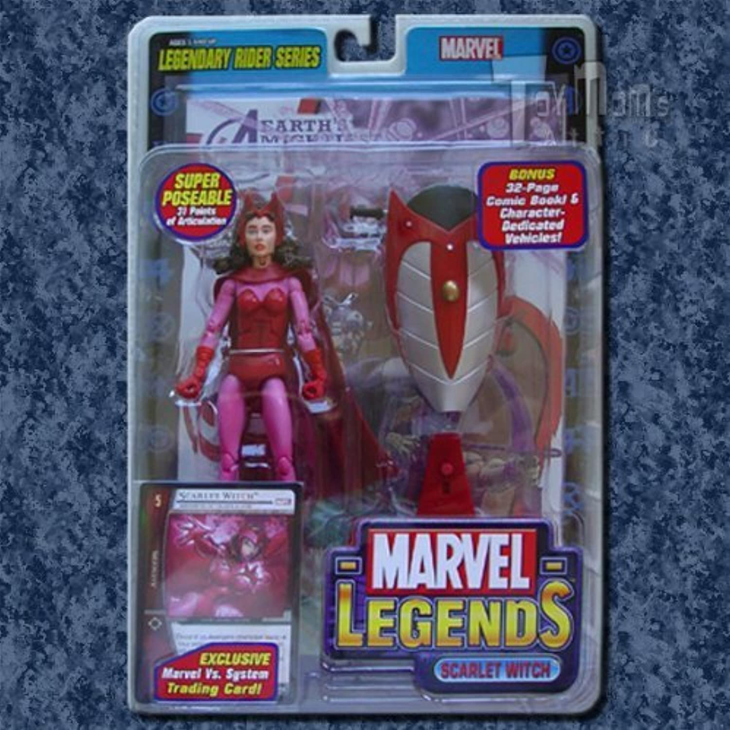 Marvel Legends Series 11 Action Figure Scarlet Witch by ToyBiz [Toy]