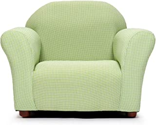 KEET Roundy Kid's Chair Gingham, Green