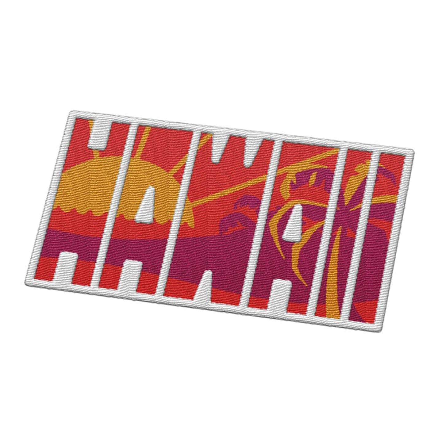 Hawaii Travel Patch - Sunset on the Beach / Honolulu or Maui / Great souvenir for backpacks and luggage / Backpacking and travelling badge.