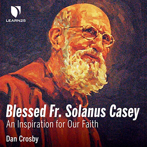 Blessed Fr. Solanus Casey audiobook cover art