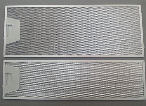 RECAMBIOS DREYMA Juego FILTROS (2) Campana Extractor TEKA TL1-62 TL2000. (61874021 + 61874022) (19,2x50 + 13,7x50)
