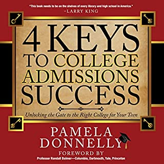 4 Keys to College Admissions Success audiobook cover art
