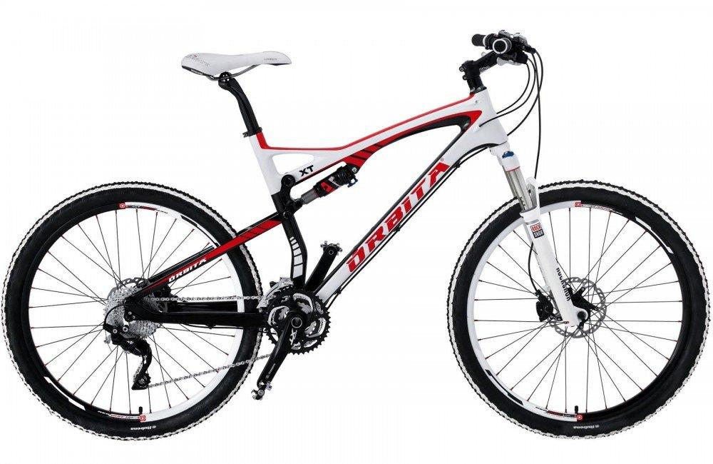 Bicicleta MTB Carbono Doble Supensión Orbita XT FOX H26 30v ...