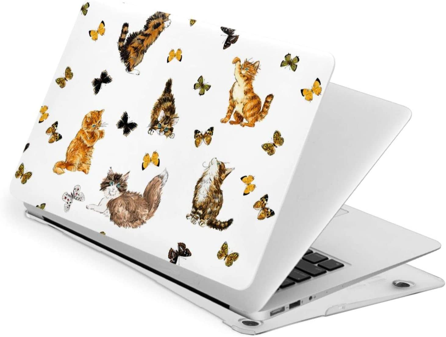 Ohclearlove MacBook NEW before selling Pro 15 Inch Case Flower Cat Lovely Butterfly Time sale