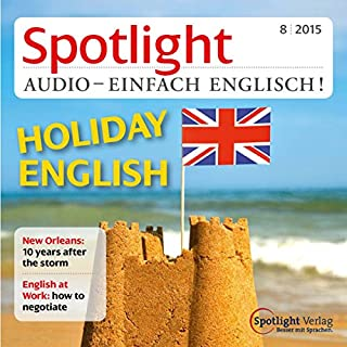 Spotlight Audio - Holiday English. 8/2015 Titelbild