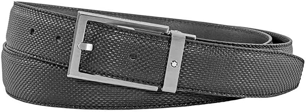 Montblanc Cut-to-Size Business Belt- Black, Medium