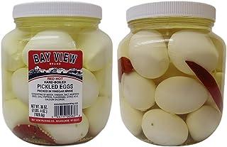 Red Hot Gourmet Pickled Eggs - 2 jars