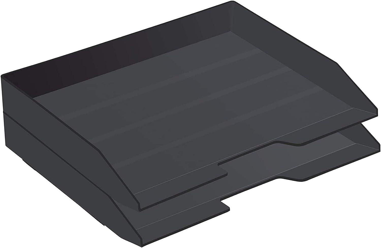 Acrimet San Diego Mall Stackable Letter Tray 2 Tier Alternative dealer Desktop Side Plastic Load F