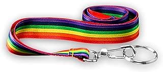 LGBTQ - Rainbow Gay Pride Lanyard (1 Lanyard in a Bag)