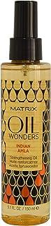 Matrix Oil Wonders Indian Amla, Olio fortificante per capelli fini e fragili con formula professionale - 150 ml