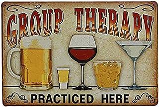ROSENICE Étain Métal Mur Signe Plaque Affiche Vintage pour Cafe Bar Pub Bière Décoration