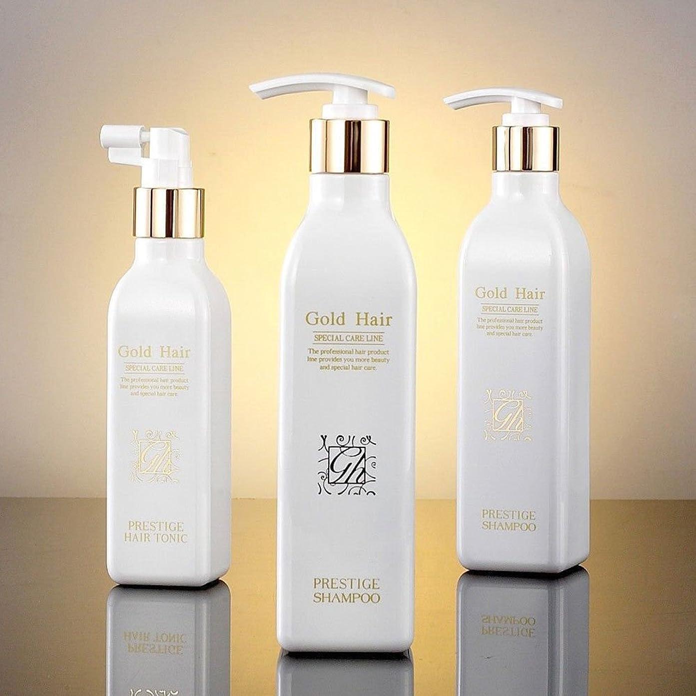 シガレットレパートリーカルシウムゴールドヘア育毛シャンプー2個&トニック1個 漢方シャンプー /Herbal Hair Loss Fast Regrowth Shampoo 100% Natural Patented Set of 3(2 shampoo and 1 tonic)[海外直送品] [並行輸入品]