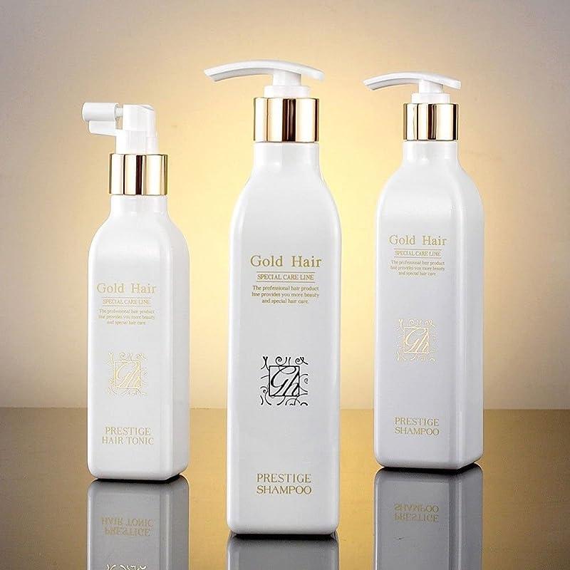 教師の日サラダ懲戒ゴールドヘア育毛シャンプー2個&トニック1個 漢方シャンプー /Herbal Hair Loss Fast Regrowth Shampoo 100% Natural Patented Set of 3(2 shampoo and 1 tonic)[海外直送品] [並行輸入品]
