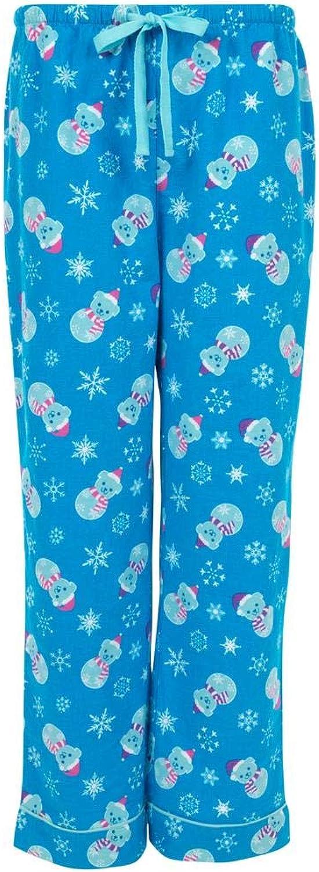 GreaterGood Snowman Pets Flannel Pajama Pants