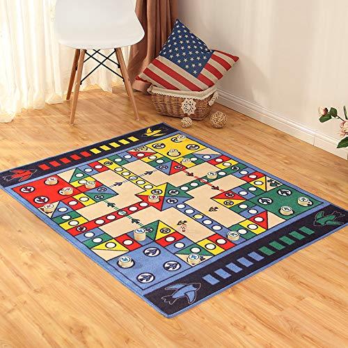 Wegji vliegende schaak monopolie tapijt ouder spel tafel schaken spel deken