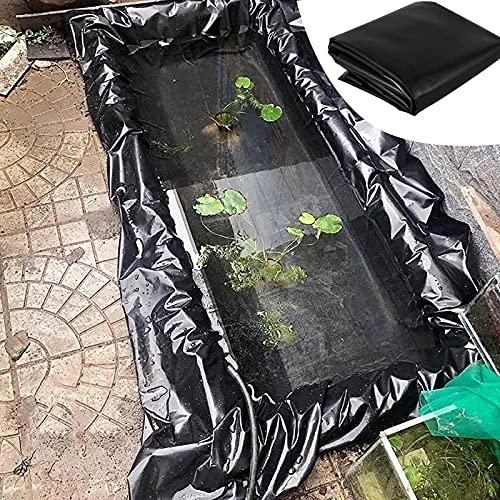 LIUU Estanques Prefabricados para Jardin 1x1m / 3x10m / 4x6m,Revestimiento para Estanques 0,3mm,Fácil De Instalar/Cortar,Forros De Estanque para Diversos Entornos Hostiles