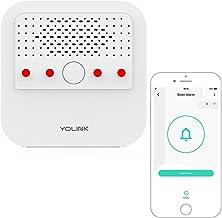 Siren Alarm, YoLink 1/4 Mile World's Longest Range Smart Siren Alarm Work with Alexa Google Assistant IFTTT, Smartphone Re...