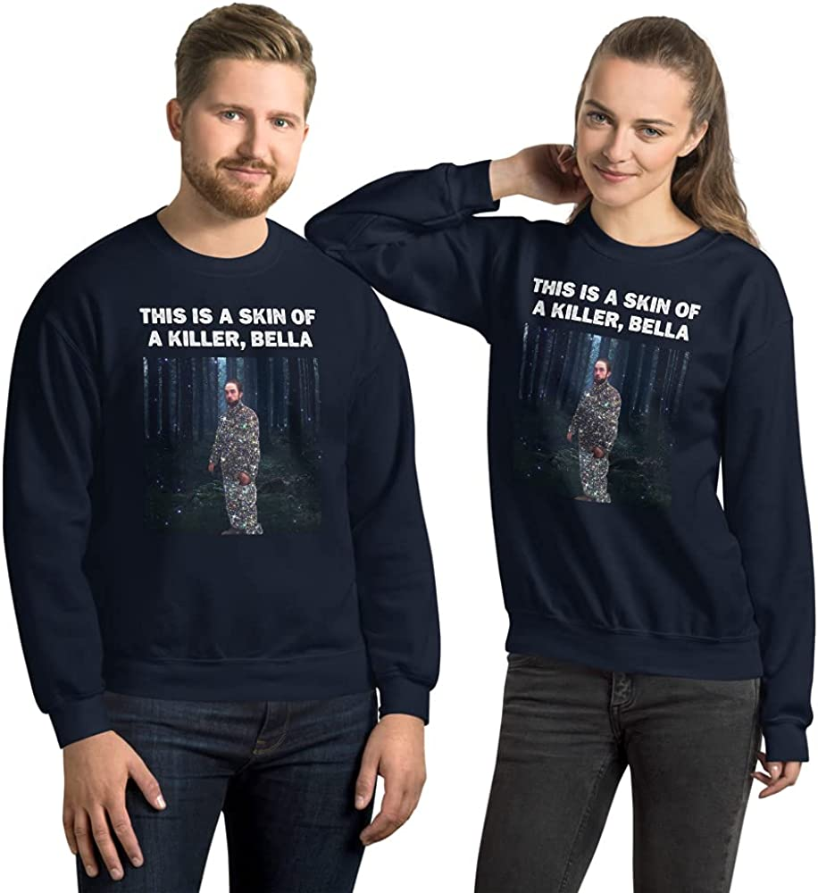 this is the skin of a killer bella Sweatshirt Navy