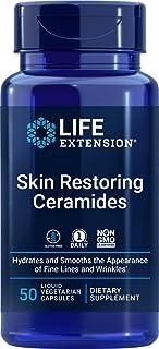 Sponsored Ad - Life Extension Skin Restoring Ceramides, 50 Liquid Veg Caps (Pack of 2) - Non-GMO, Vegan Phytoceramide Supp...