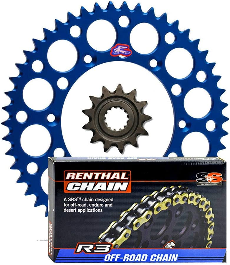 Renthal Limited time trial price Grooved Front Ultralight Rear Sprockets R3-3 OFFer O-Ring
