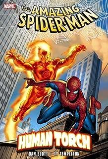 human torch spider man
