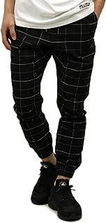 [ゼンローブ] ZANEROBE 正規販売店 メンズ チノ ジョガーパンツ GRIDLINE SURESHOT PIPELINE CHINO JOGGER PANTS BLACK/WHITE 718-VER (コード:4134151364)