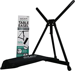 Mont Marte Aluminium Table Top Easel, Nice Painting Tripod Easel for Kids, Artists & Adults, Adjustable Height to 21