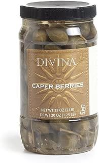 Divina Caperberries, 32 Oz.