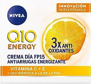 Creme Facial Antissinais Dia Nivea Q10 Plus C Fps15 50Ml, Nivea