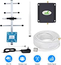 Cell Phone Signal Booster Verizon 4G LTE Cell Phone Signal Amplifier Repeater Mingcoll 700MHz Band 13 Verizon Signal Booster Extender for Home and Office