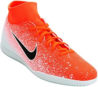Men's Superfly 6 Club IC Indoor Soccer Shoes (Hyper Crimson/Black-White)